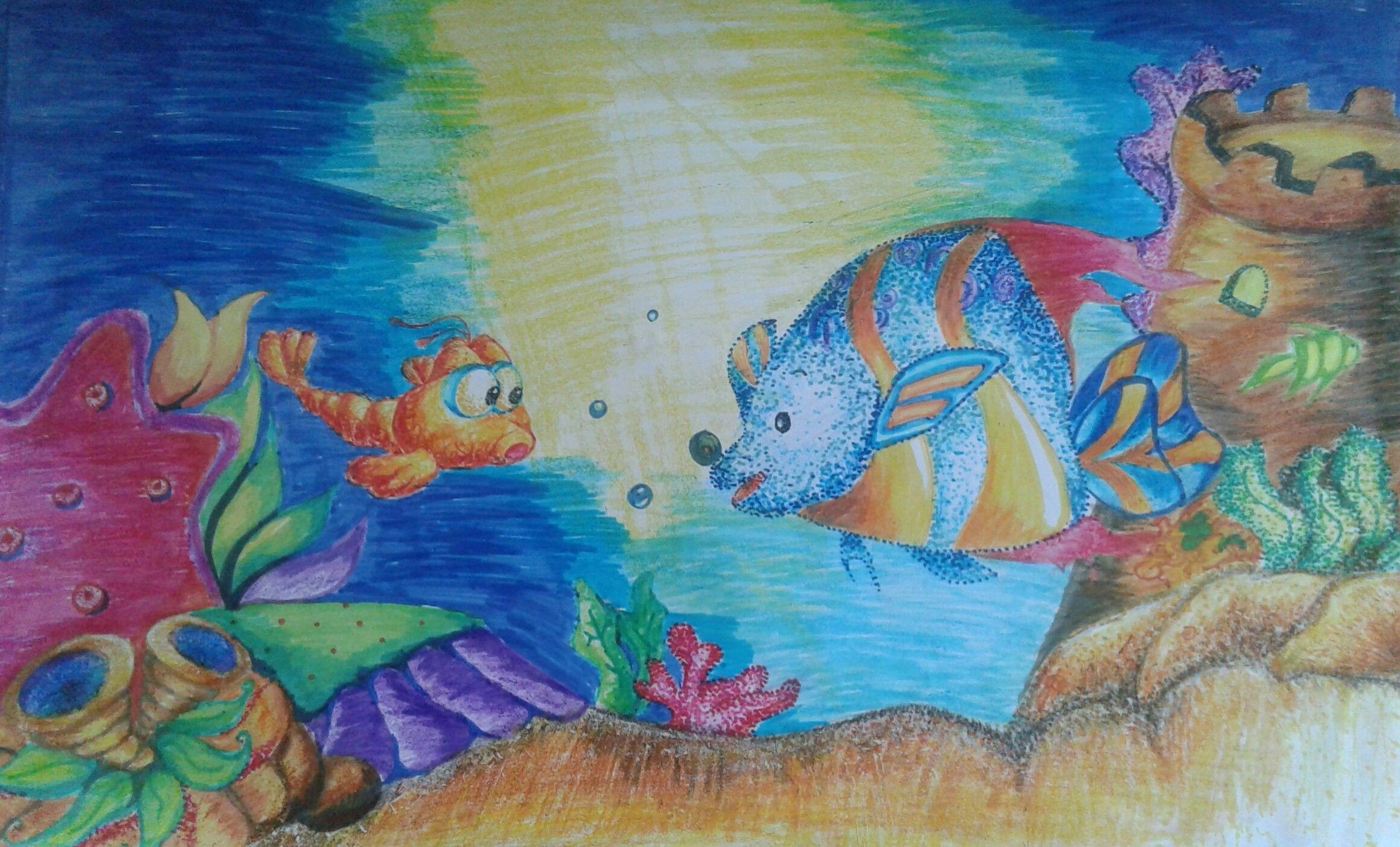 Draw Cover Crayon Titi