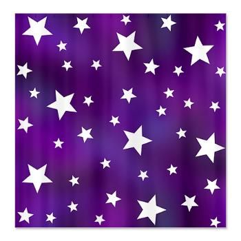 Purple And White Star Pattern Shower Curtain Funky Shower Curtains Patterned Shower Curtain Purple Shower Curtain
