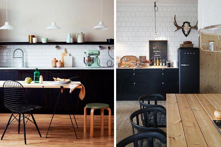 Como decorar cocinas en estilo nórdico Decoración cocina Pinterest