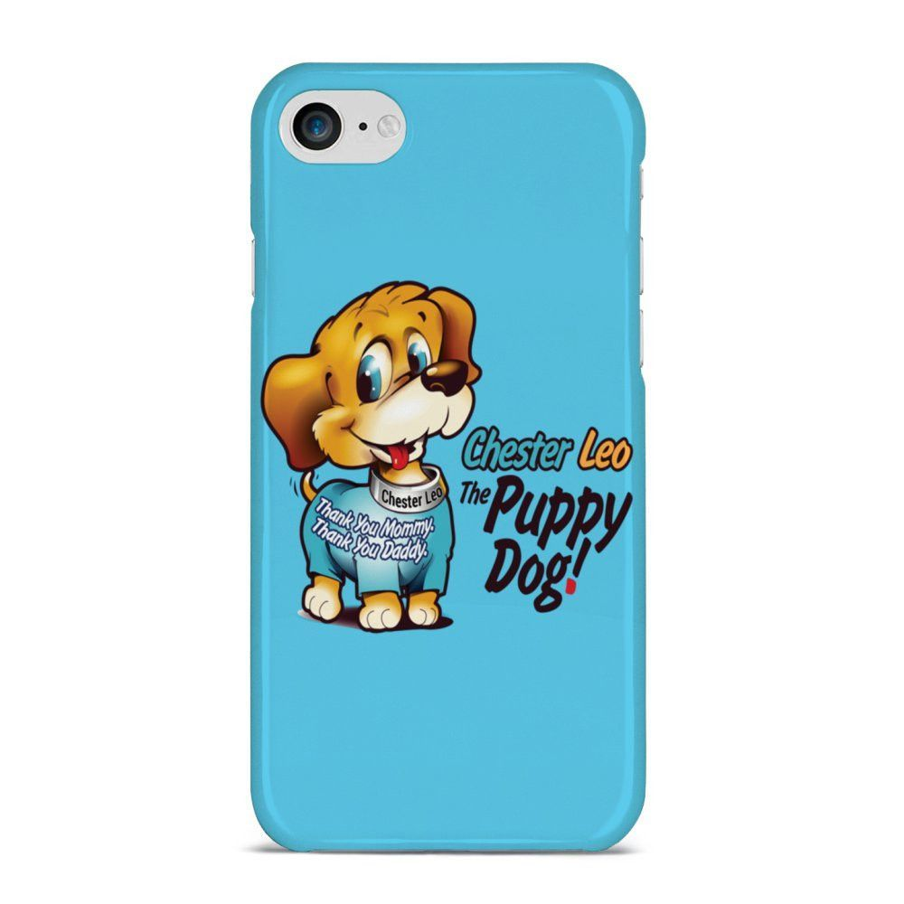Chester leo the puppy dog iphone case aqua products