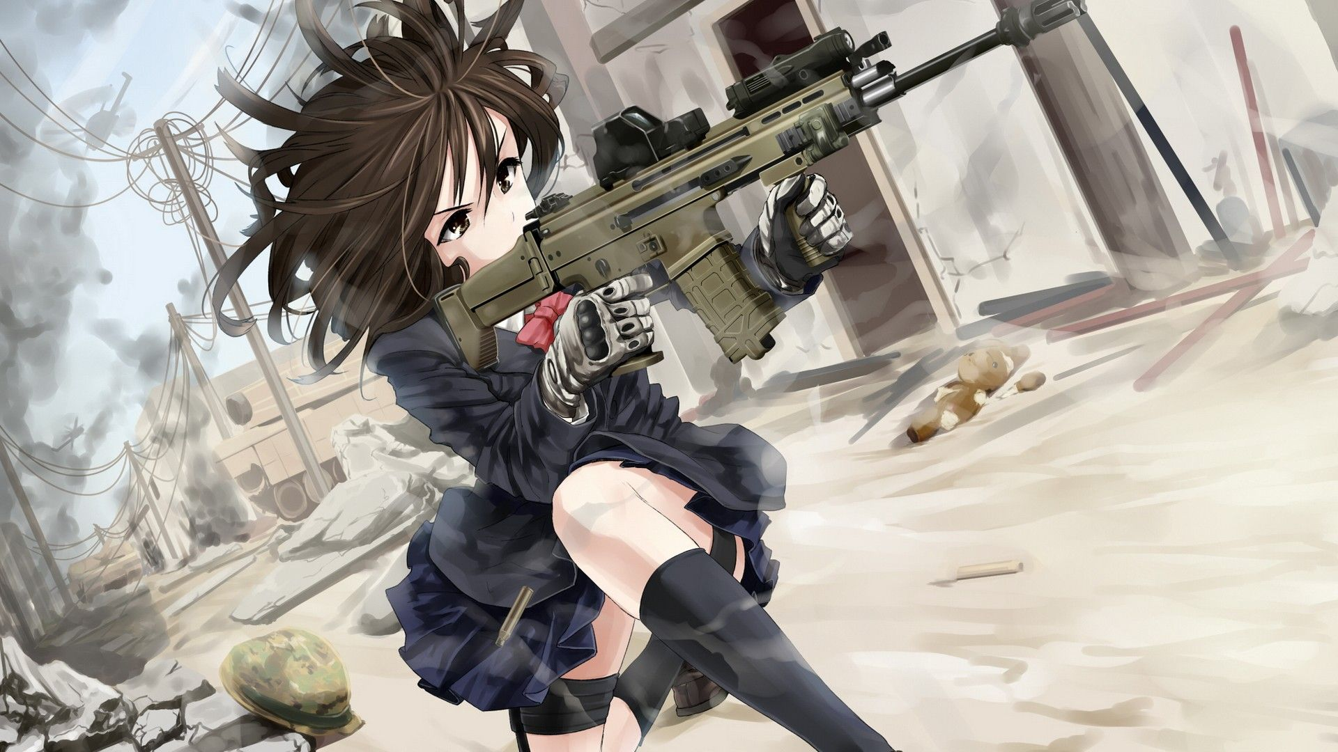 Anime Girls With Guns