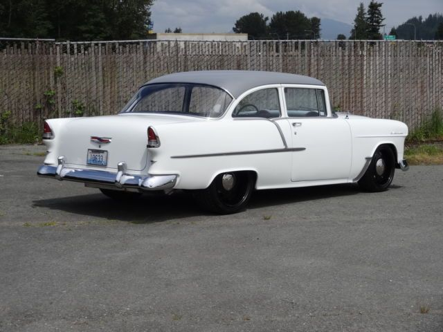 1955 Chevy Sedan Clean And Simple With Images Hot Rods Cars