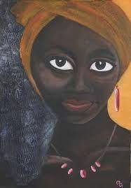 Bildergebnis für Afrikanische frauen gemälde #afrikanischefrauen