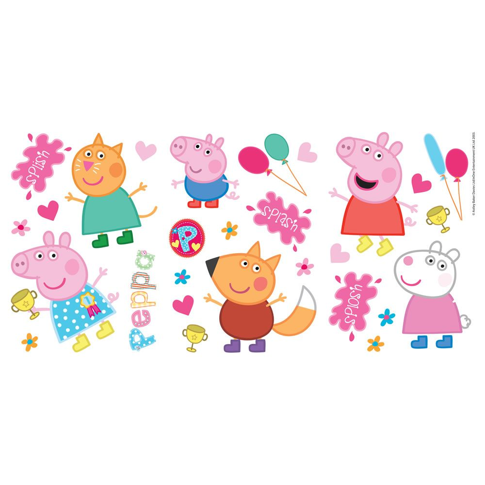 Peppa Pig 2014 Stickers Peppa Pig Bday Party Ideas In 2019 Peppa
