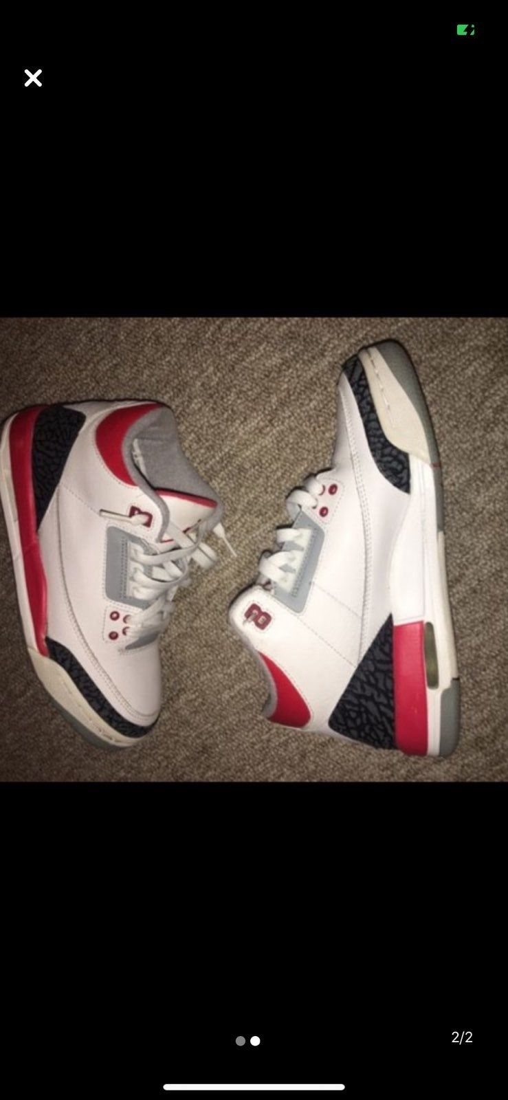 5.5y in used great condition 8.5/10 | Air jordan shoes, Air ...