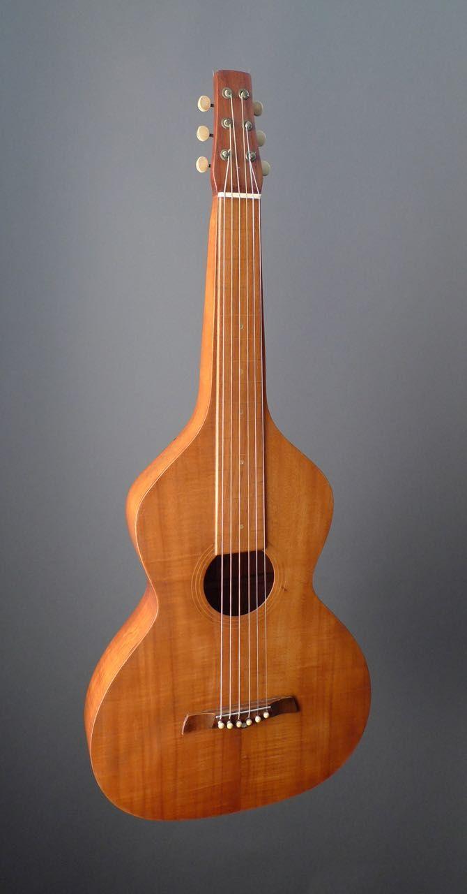 1930 Weissenborn Style 1 Koa Koa Lap Steel Guitar Lap Steel Pedal Steel Guitar