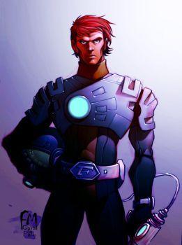 DeviantArt: More Like Lordnecro Fanar Capitan Futuro by ColectivoBazofia