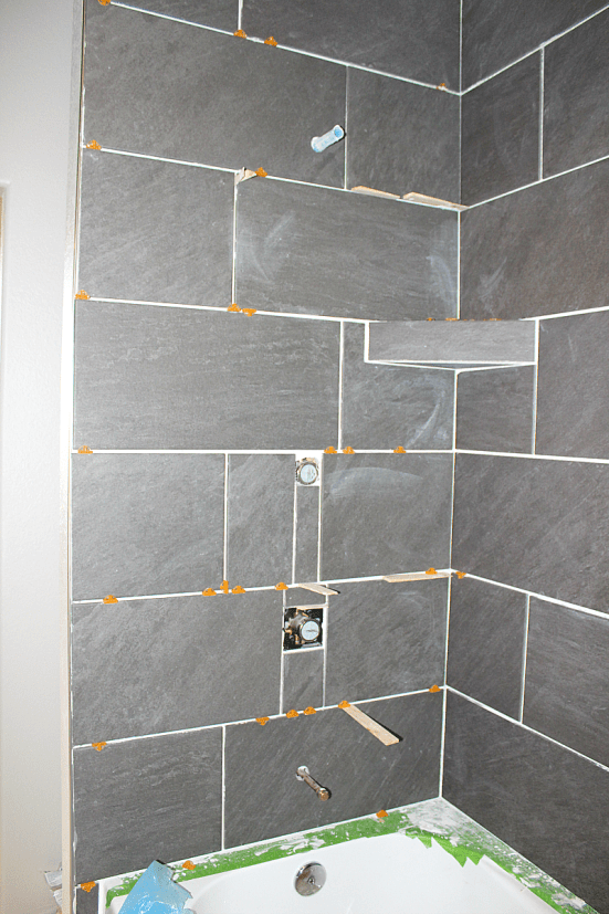 Diy How To Tile Shower Surround Walls Shower Surround Shower