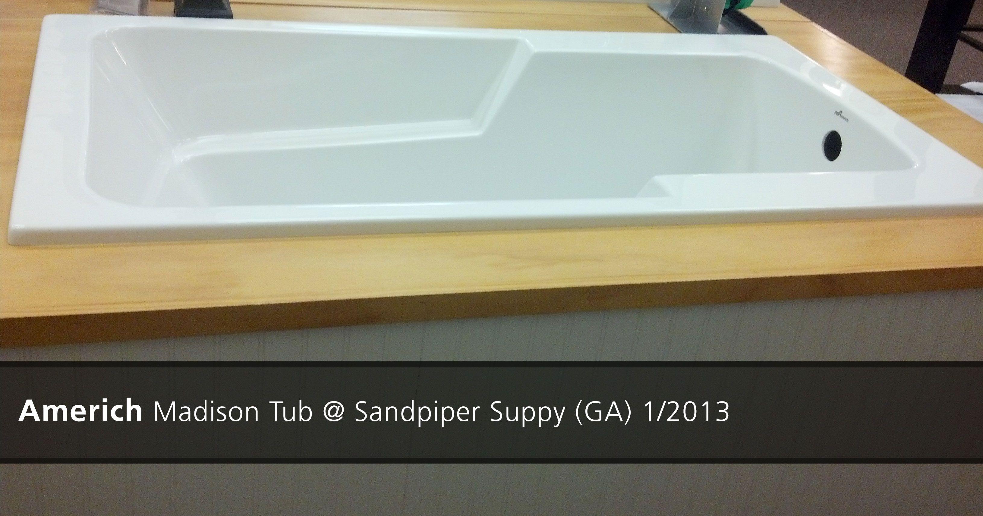 Americh Madison Tub @ Sandpiper Supply (GA) - 2013   Showroom ...