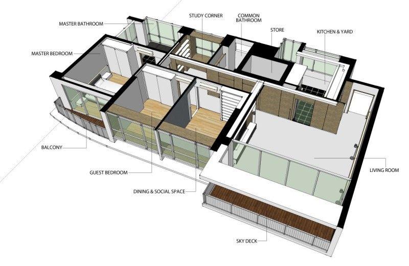 Natura Loft Apartment By Ao Studios Loft Living Loft Apartment Apartment Floor Plan