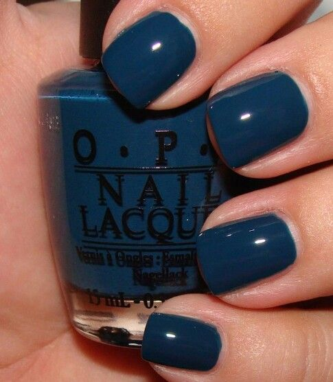 Opi Ski Teal You Drop Nails