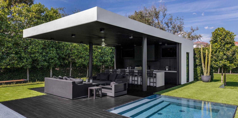Ponce Davis Residence Miami Florida Outdoor Luxury Swimming Pools