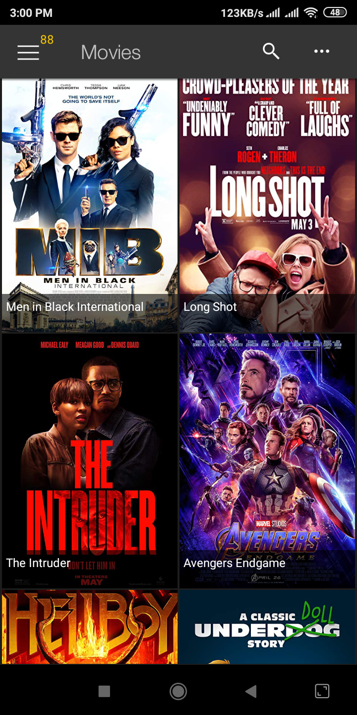Watch your favorite movies in the showbox apk. Film et