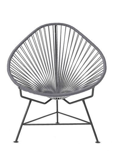 Grey Acapulco chair