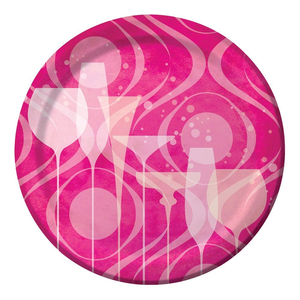 7 inch Lunch Plates Fabulous Birthday/Case of 96