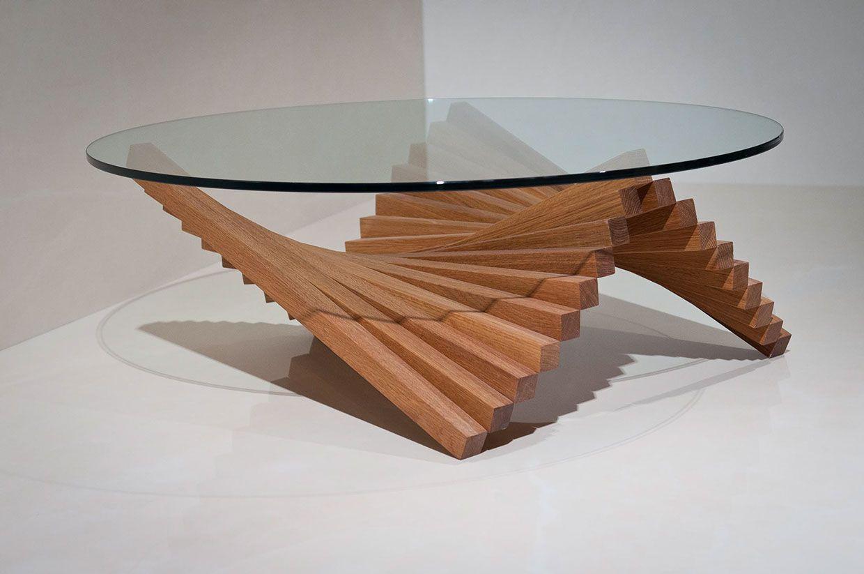 Wave Coffee Table On Behance Moveis De Madeira Compensada Moveis De Madeira Decoracao Tubos [ 823 x 1240 Pixel ]