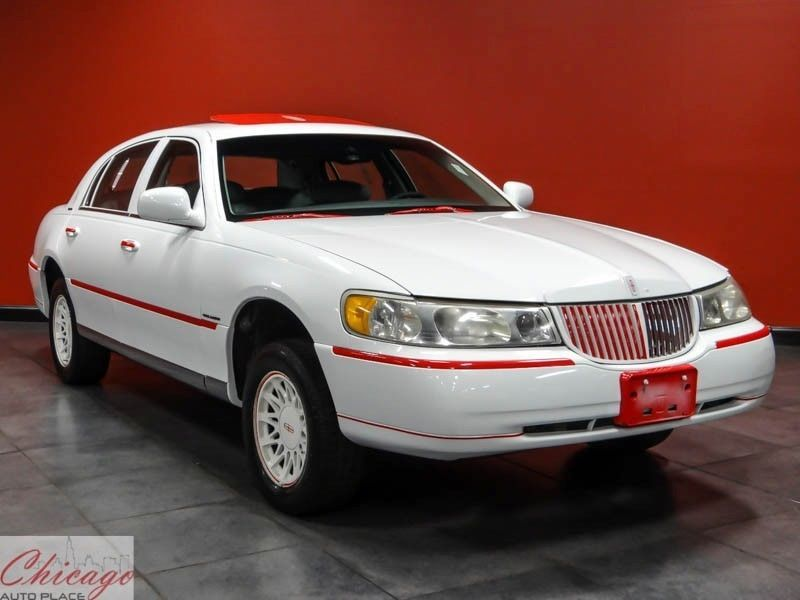 1999 Lincoln Town Car Red Cars Pinterest Cars Lincoln Town