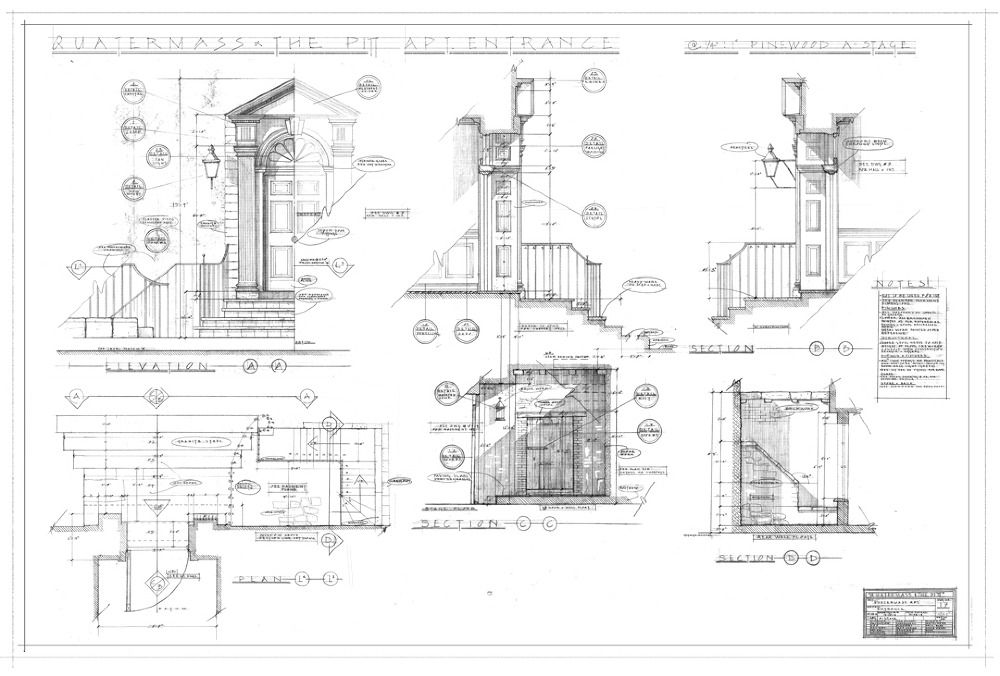 Technical Drawing Jonathan Mcgonnell Concept Art Design For Film Television Technical Drawing Art Design Conceptual Drawing
