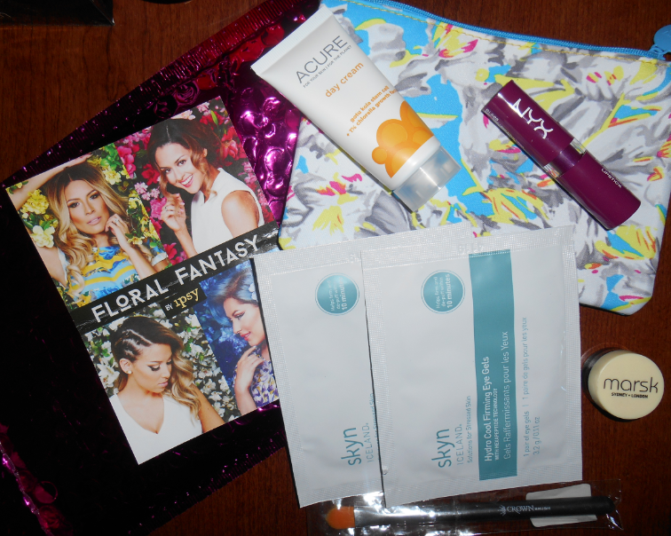 March 2015 Ipsy Bag. The postal service delivered it to the wrong house but the person who got it sent it back to me. :)