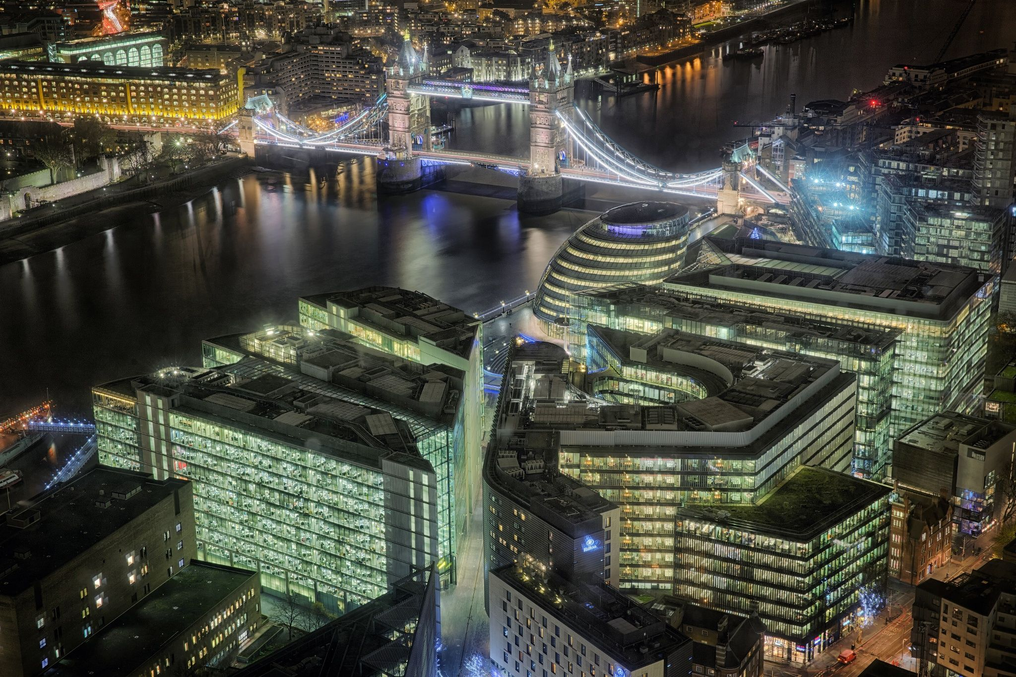 Photograph London at Night by David Foreman on 500px