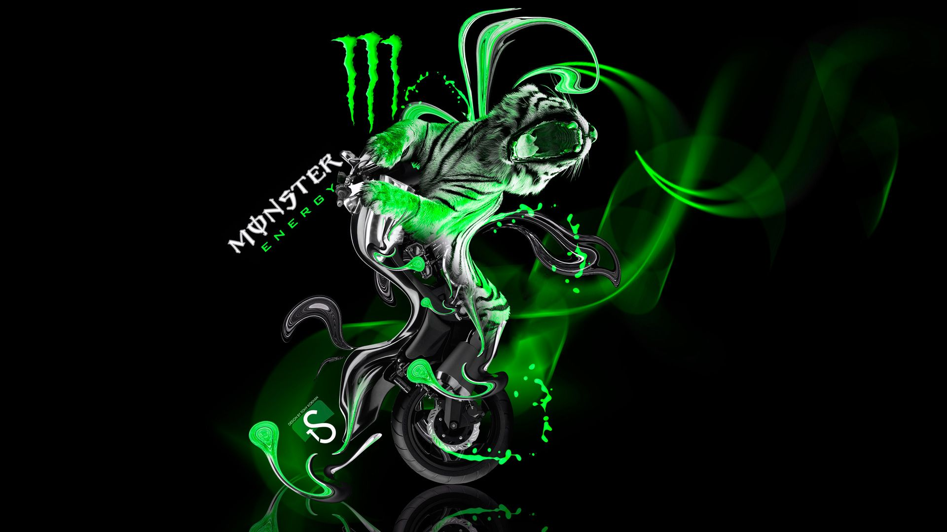 Cool monster backgrounds hd wallpapers pinterest hd cool monster backgrounds monster huntermonster energyhd voltagebd Choice Image