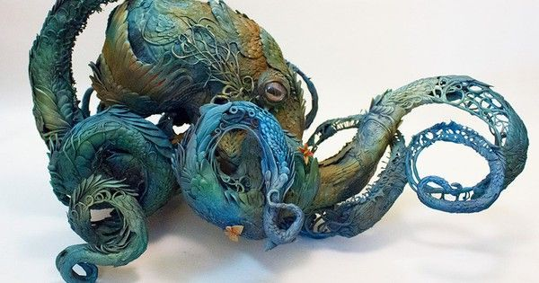 Artist's mythical animal sculptures are chimeras of the imagination