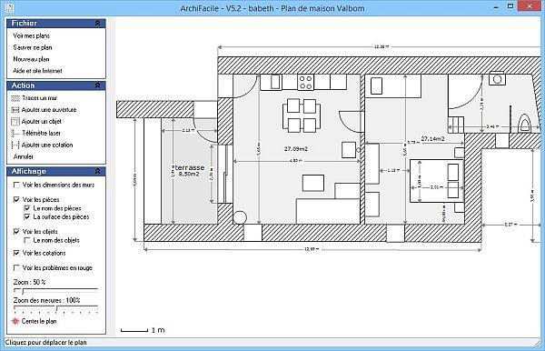 plan appartement facile (avec images) | Plan maison, Plan de maison gratuit, Maison moderne toit ...
