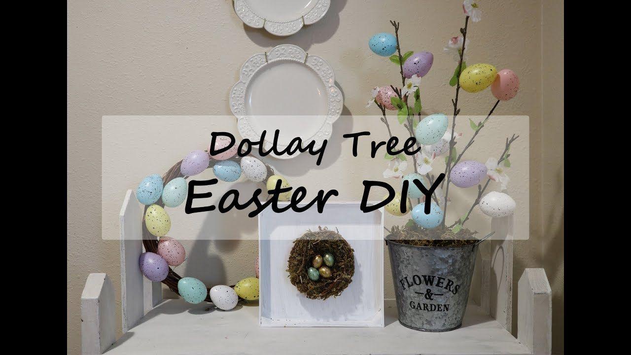 DOLLAR TREE DIY // EASTER DIY // YouTube Easter diy