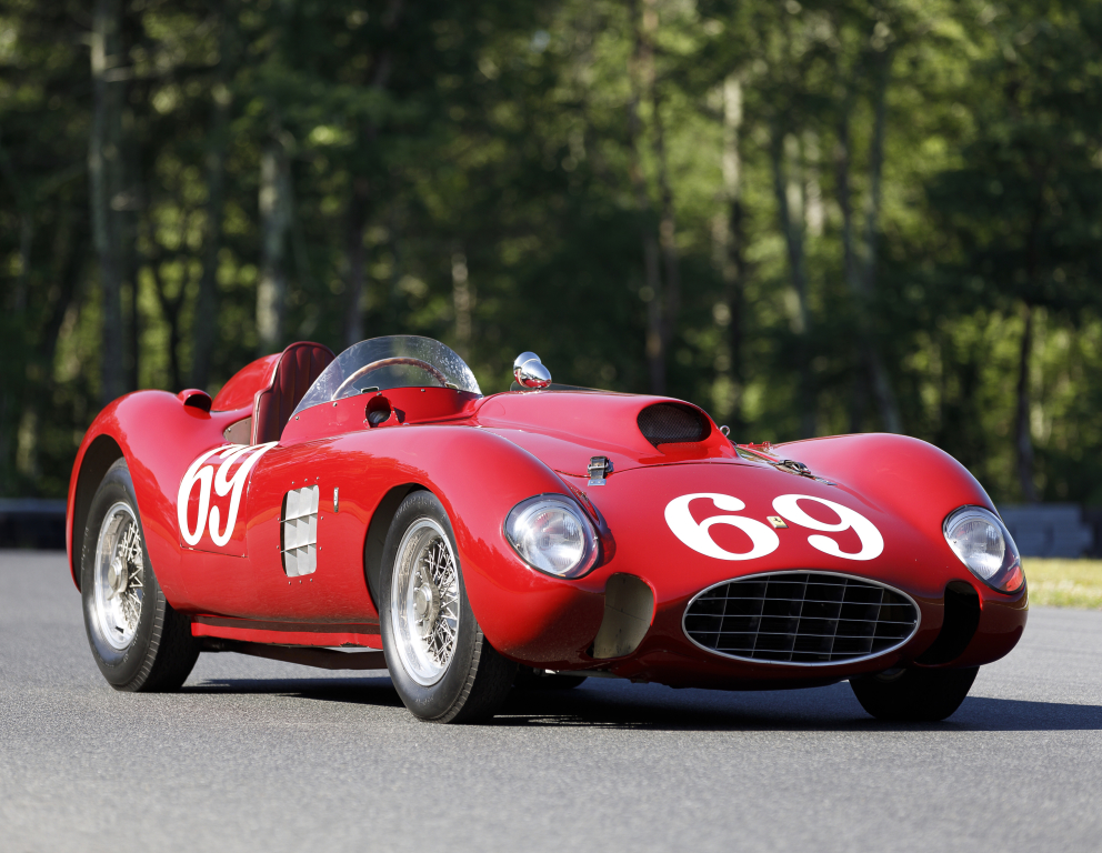 Ferrari 375 Plus Sutton Spyder 0478am Pininfarina 1954 1956 Classic Racing Cars Race Cars Ferrari