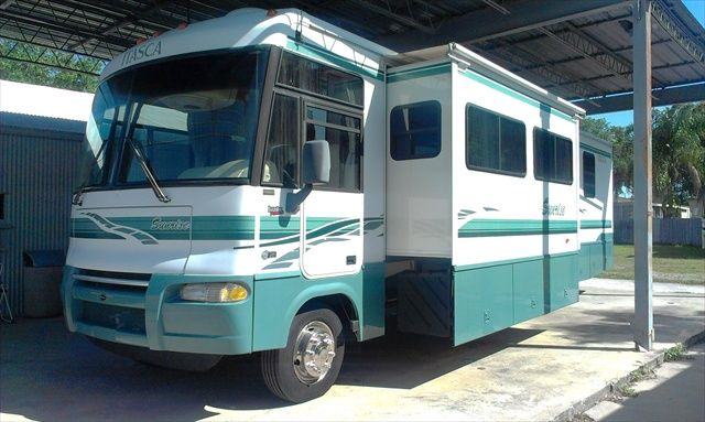 2003 Itasca Sunrise By Winnebago 36u0027 Class A Motorhome RV For Sale By Owner  Tampa: 2 Slides! Really Nice U0026 Extremely Clean. Workhorse Chassis, 20k  Miles On ...