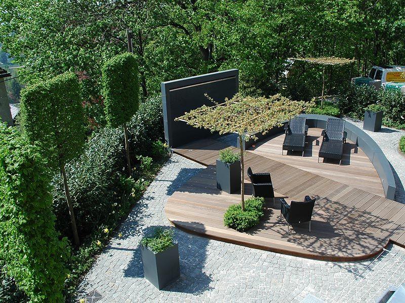 modern garden | tuin | pinterest | gärten, modern und moderne gärten, Garten Ideen
