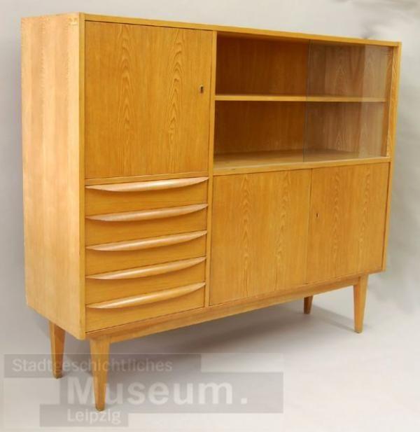 Wohnzimmerschrank 602 G Ehrlich, Franz DDR Design Pinterest - ebay kleinanzeigen wohnzimmerschrank