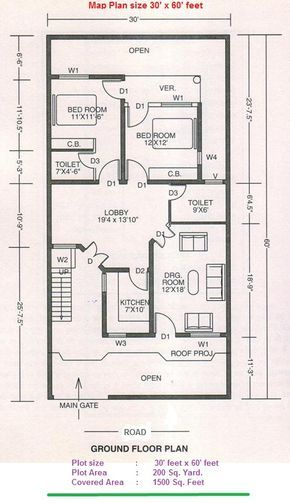 Numerology Living In A 3 House Indian House Plans 2bhk House Plan How To Plan