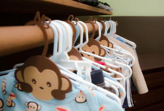 Monkey Closet Dividers by Pixil3D on Etsy Closet