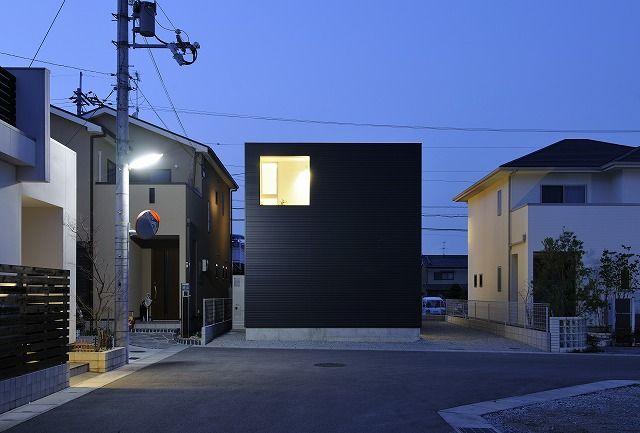 house of kashiba by horibe naoko architects design pinterest maison toit plat. Black Bedroom Furniture Sets. Home Design Ideas
