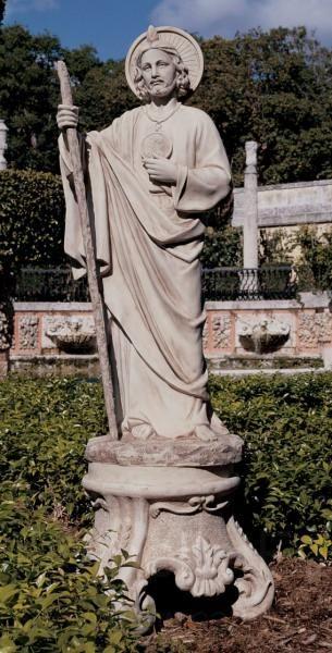 St Jude Garden Statue Tgs0058
