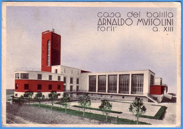 1935 vg opera balilla forl casa del balilla arnaldo for Casa italia forli