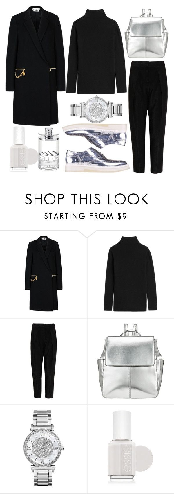 Outfit #142 by sofi6277 on Polyvore featuring Etro, STELLA McCARTNEY, Alexander Wang, Kin by John Lewis, Michael Kors, Cartier and Essie
