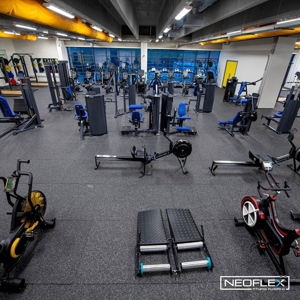 Neoflex Premium Gym Tiles At Kerry Sports Academy In Ireland Courtesy Of The Team At Podium4sport Tiles Gym Home Decor