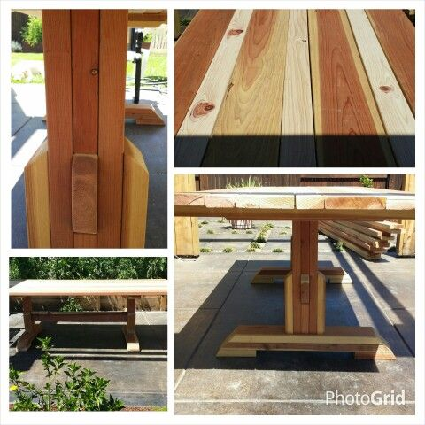 More details for 8 ft farmhouse table