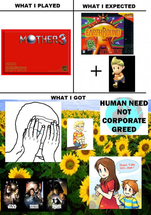 Mother 3 | IDK | Mother games, Games, Super smash bros