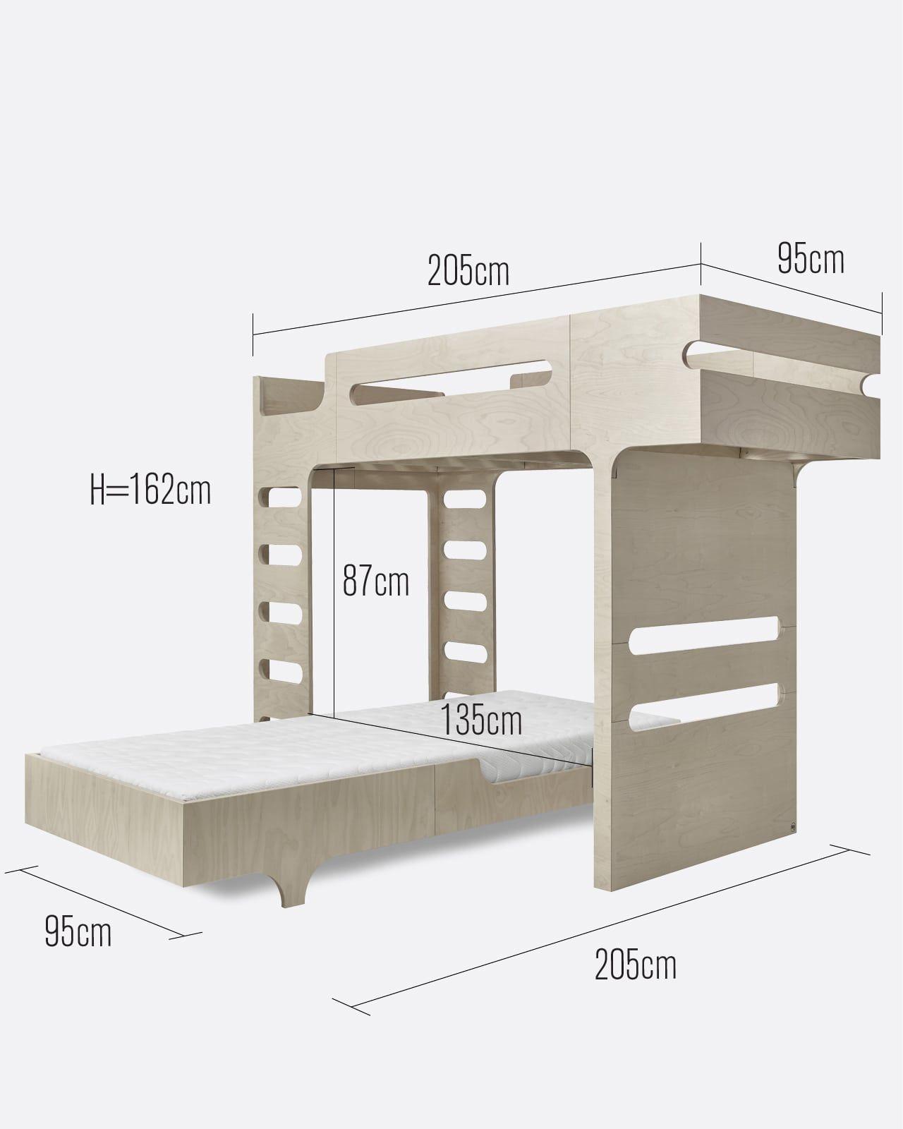 F A90 Bed Set For 2 Kids Todo Muebles Muebles Hogar Cama De