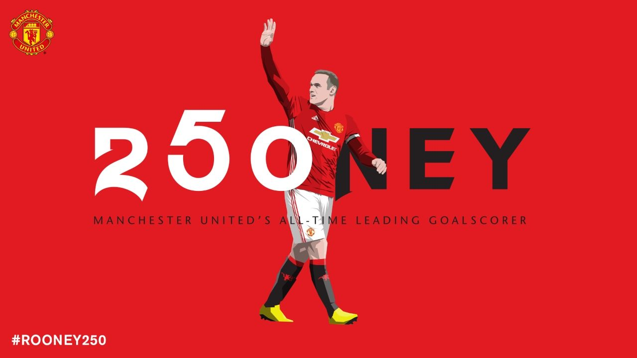 Wayne Rooney Becomes Manchester United S Top Scorer Official Manchester United Website Manchester United Manchester United Legends Manchester United Top