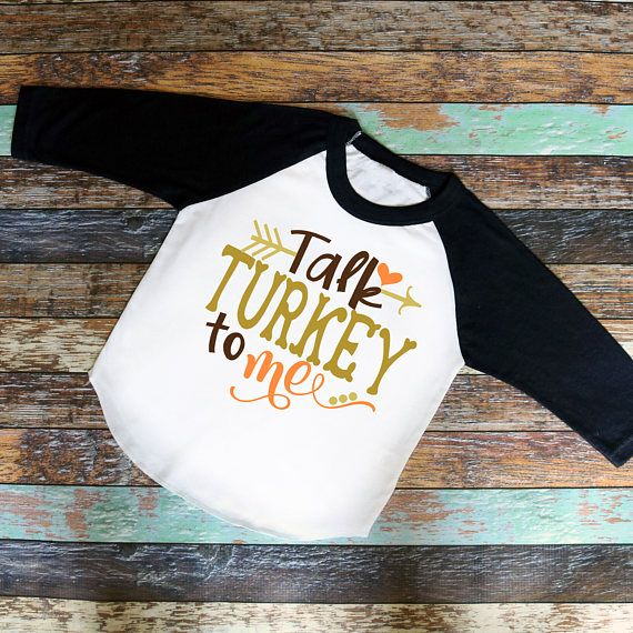 Talk Turkey to Me Thanksgiving Outfit First Thanksgiving