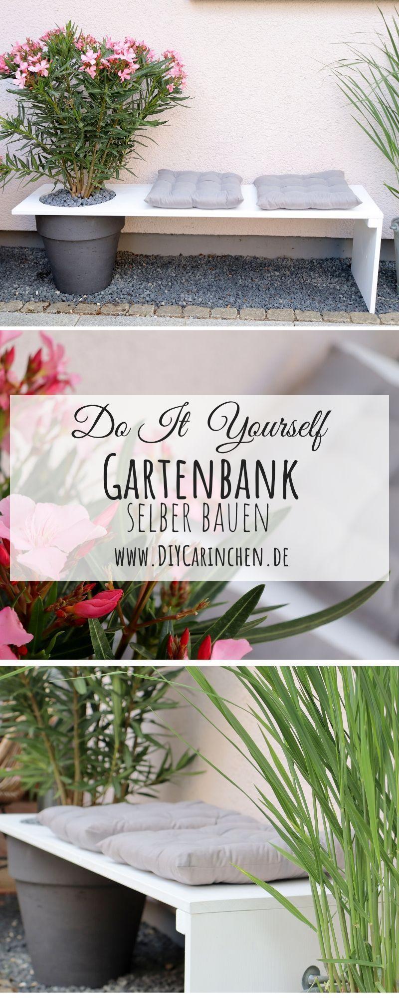 Diy Gartenbank Mit Integriertem Blumentopf Selber Bauen Anleitung Diy Basteln Selbermachen In 2020 Selber Bauen Anleitung Selber Bauen Gartenbank Selber Bauen