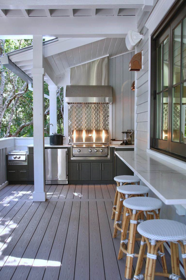 13 Artistic Outdoor Bar Concepts For Your Backyard Motivation Zeltahome Com Southern Living Homes Outdoor Kitchen Design Indoor Outdoor Living