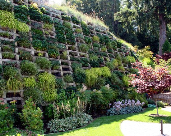 ideas build retaining wall