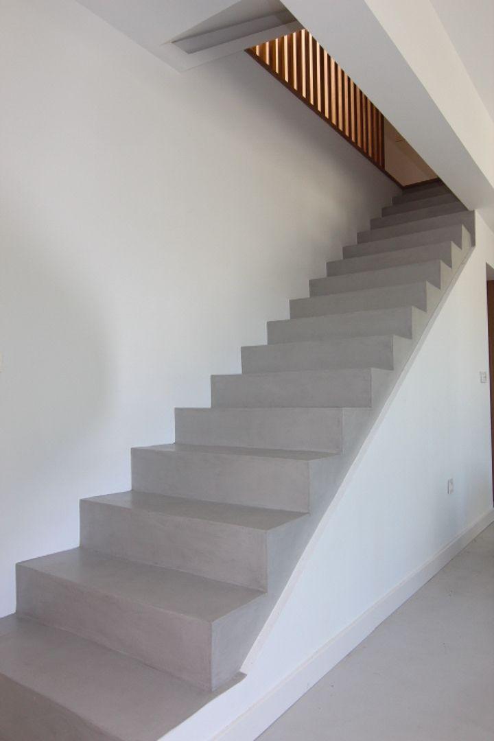 Escalera microcemento sevilla home deco - Diseno interiores sevilla ...