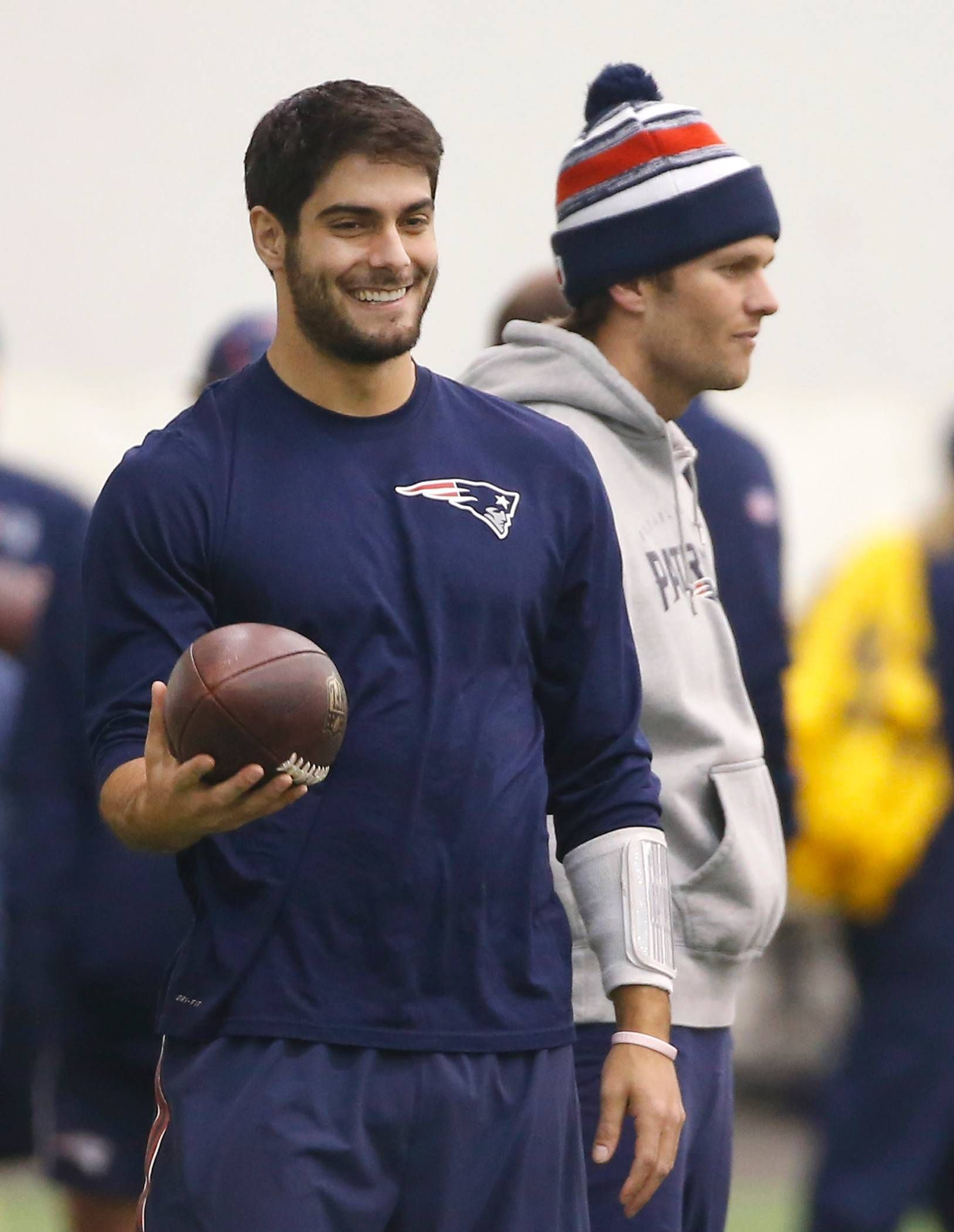 Imrem Garoppolo S Audition Might Just Be For Chicago Bears Chicago Bears Jimmy New England Patriots