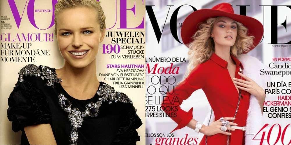 """Top models """"de ayer"""" y top models actuales: ¿quiénes son más bellas? - Terra México"""